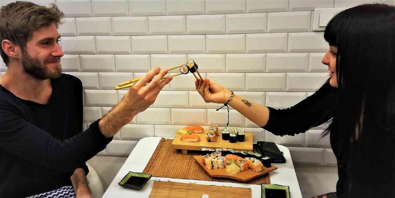 Sushi koccintás