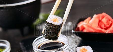 Vékony Sushi Tekercs (hosomaki)