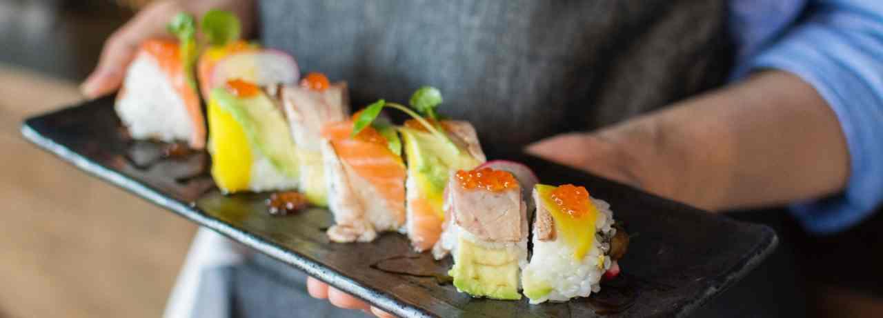 szivárvány sushi